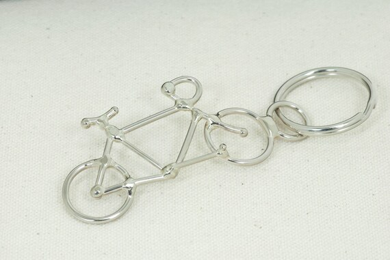 Bike key chain