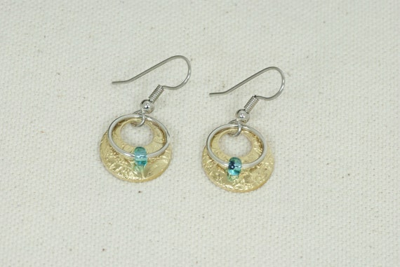Dangly earrings with beads