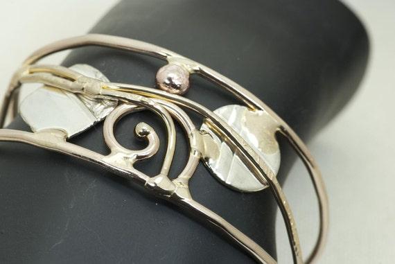 Scenic Metal Cuff Bracelet