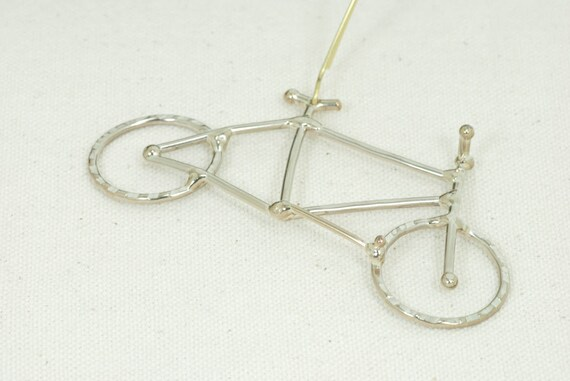 Mountain bike tree ornament