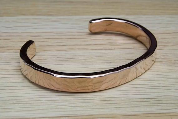 Men's or Women's Copper Cuff Bracelet