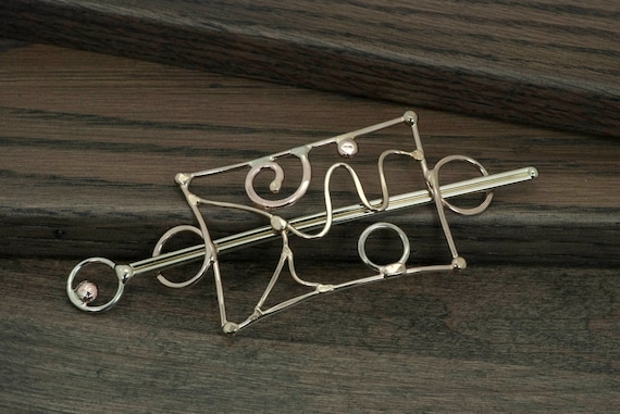 Hair Barrette or Scarf Pin