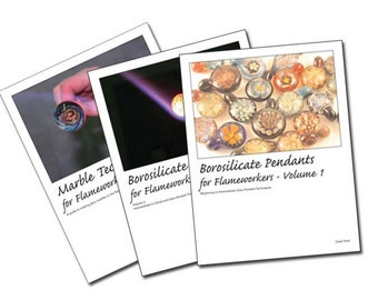 Lampworking Tutorial - All three books plus Inside Out Beads tutorial