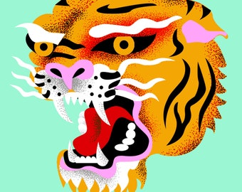 Tiger Poster Print by Sunny Buick
