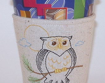 Owl Cup Cosy, Coffee Cup Cosy