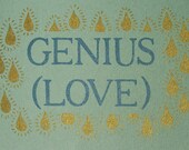Genius (Love) - Illustrated Poem-Book