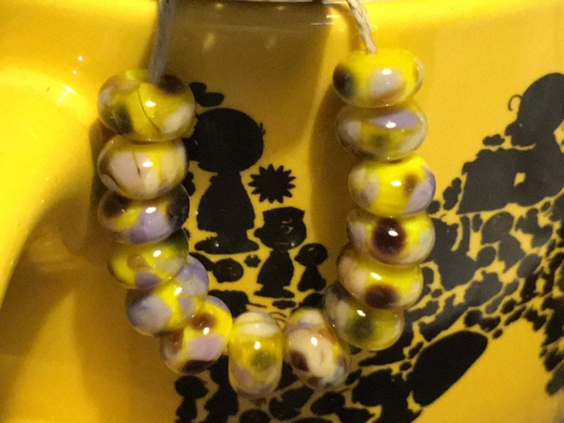 3 Angels Blueberry Lemonade Fritted Beads