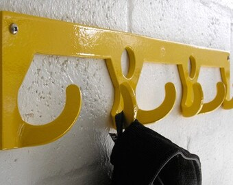 PM Custom coat rack- Yellow
