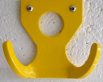 PM Custom coat hook- Yellow
