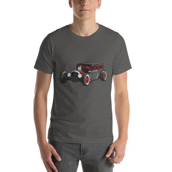 Classic Hot Rod Short Sleeve Unisex T Shirt Mens Shirt Etsy