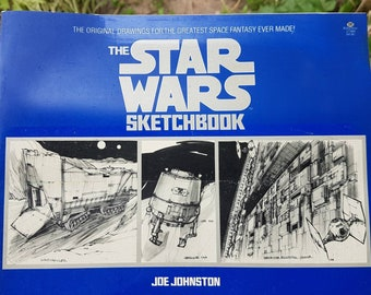 The Star Wars Sketchbook ISBN-0-345-27380-X The Star Wars Sketchbook Jo Johnston Brand Ballantine Books