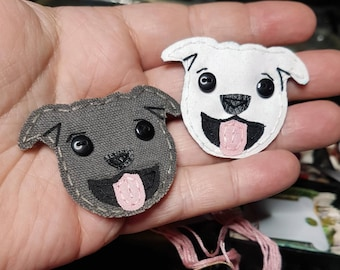 Pitbull Badge Reel, Pitbull Badge Card Holder,Pitbull, Bulldog Badge Reel, ID Holder,Dog,Nursing Name Badge Holder,Badge Reel, Retractable