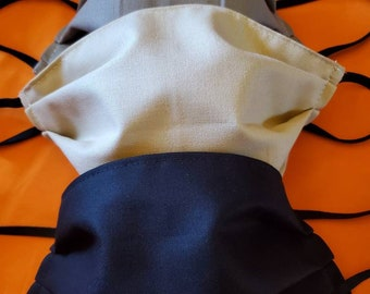 Set of three fabric masks