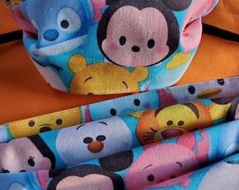 Little Disney set child size fabric facemasks