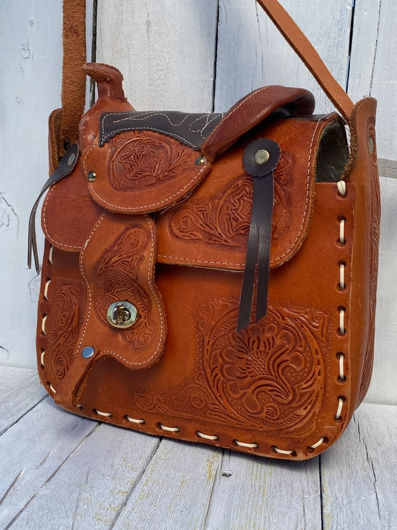 western purse, western handbag, handmade, FREE US… - image 10