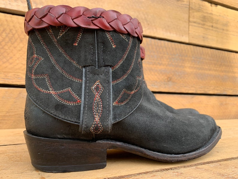 cd7b29289a9 Us 8, Custom Boho Boots, Frye boots, upcycled boots, vintage cowboy boots,  cowgirl boots, excellent condition, FREE SHiPPiNG, ready to ship