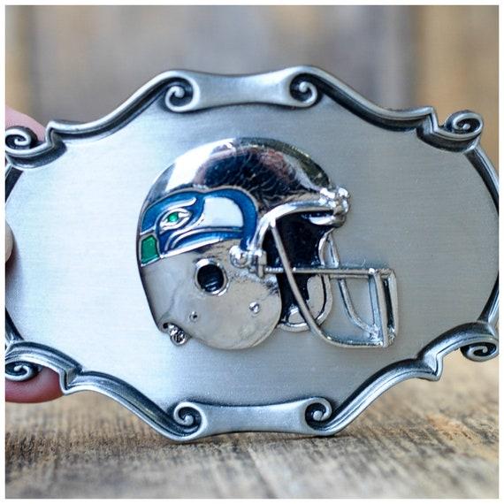 Seahawks ceinture boucle football bijoux mens ceinture boucle   Etsy cec4bf737d2