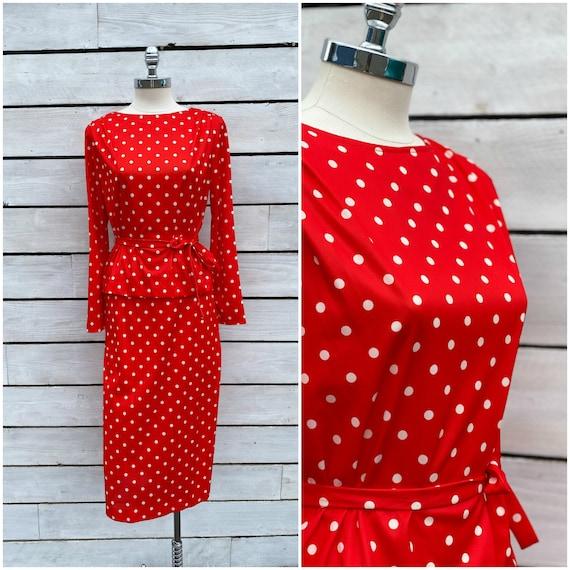 Medium, Midi skirt, Midi dress, polkadot dress, FR