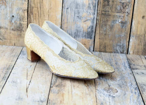 Us 9, 50s heels, 1950s shoes, vintage high heels,