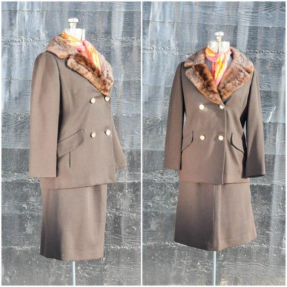 vintage skirt suit, 1950s skirt suit, 1960s skirt