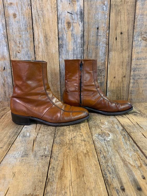 Mens 8.5 E, ankle boots, Florsheim boots, beatle b