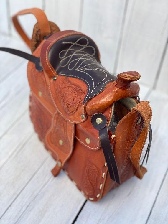 western purse, western handbag, handmade, FREE US… - image 5