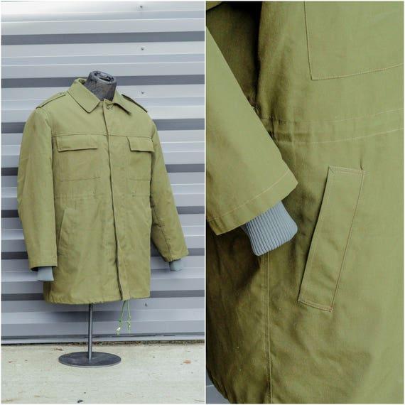 large, military jacket, korean army jacket, us arm