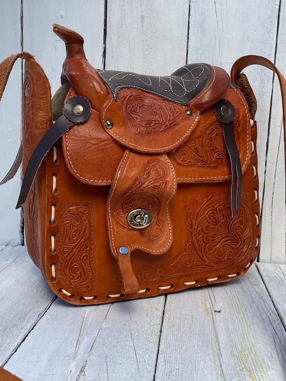 western purse, western handbag, handmade, FREE US… - image 3
