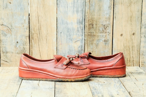 Us 7, 70s shoes, 1970s shoes, platform shoes, plat