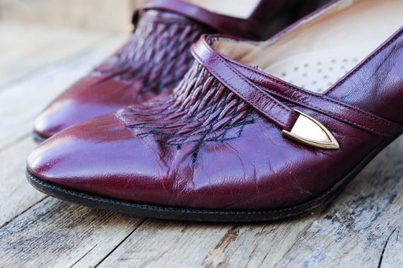 Us 5, 1930s vintage shoes, 1930s high heel shoes,