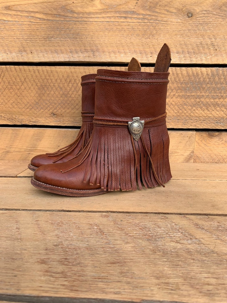 88bdad78259 Vintage Ankle boots, Upcycled Reworked Frye Boots, Custom Boho Boots,  Multiple sizes available, excellent condition, FREE SHiPPiNG
