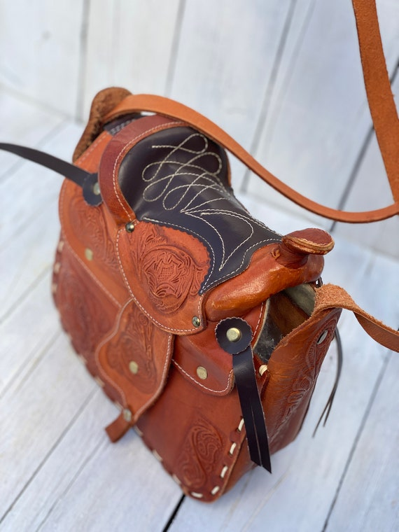 western purse, western handbag, handmade, FREE US… - image 9