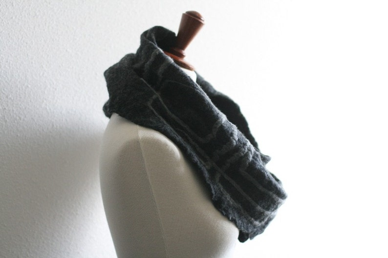 Reduced Price Corners  Handfelted Cowl Scarf image 1
