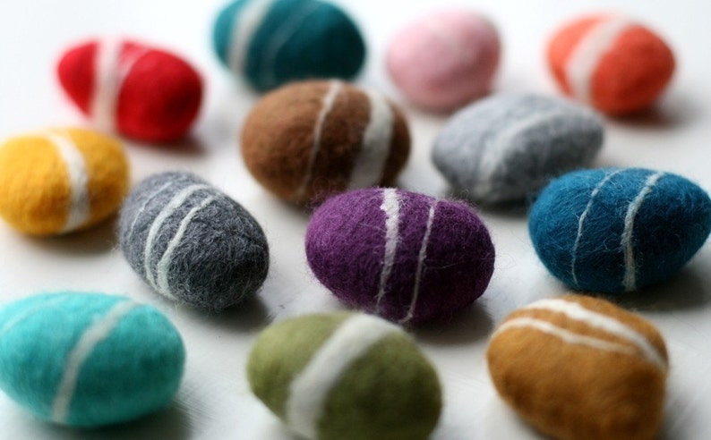 The Colors  Pick any 4 Pebbles image 0
