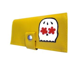 Muerto ) Pocketbook Slash Checkbook Holder