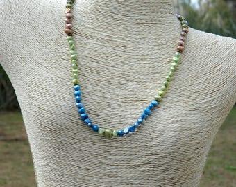 Boho Pearl Choker Necklace