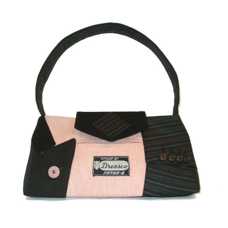Little Liam1818 Recycled Suit Coat Handbag  Small Shoulder image 0
