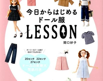 Doll Clothes Sewing Book - Japanese Craft Book