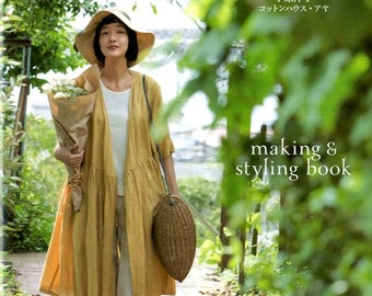 Making and Styling Book Comfortable Clothes - Japanese Craft Book MM
