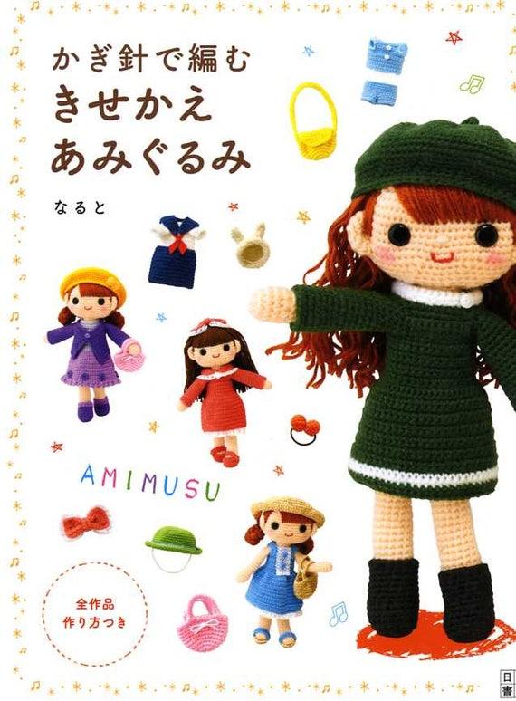 Lassen Sie Uns Eine Gehäkelte Puppe Amimusu Und Ihre Häkeln Etsy