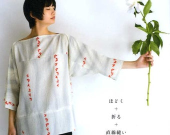 Remake your Kimono into Shirts, Skirts, Pants, Vests, etc.. -  Japanese Craft Book