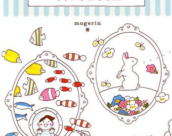 1150 Illustration Lesson Book by Mogerin - Japanese Book