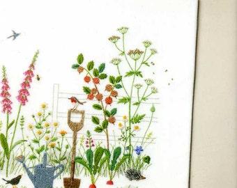 Kazuko Aoki Stitch of Cotswolds and Lakes - Japanese Craft Book