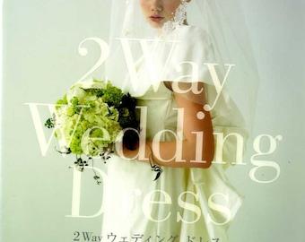 2 Way Wedding Dress - Japanese Pattern Book