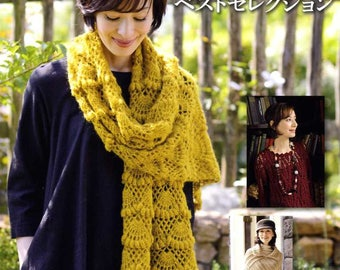 Fall and Winter Crochet Clothes Best Selection - Japanese Craft Book