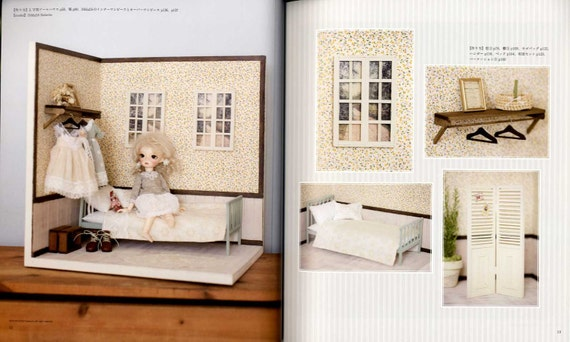 Japanese Craft Book Dollhouse Coordinate Recipe by Rosalyn Perle