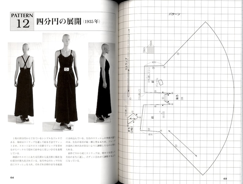 VIONNET  Japanese Dress Pattern Book image 7