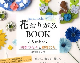 Nanahoshi's Origami Flowers - Japanese Craft Book