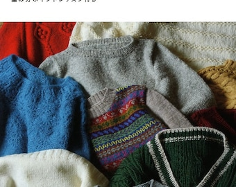 Knit Sweaters for Winter - Japanese Craft Book
