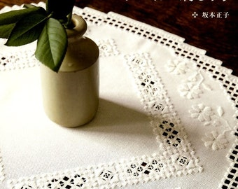 Lacey HARDANGER EMBROIDERY - Japanese Lace Patterns Book